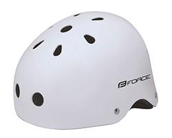 Přilba Force BMX bílá