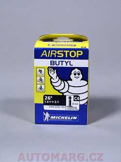 Duše Michelin 26x1,6 - 2,1 (37/54-559) AV34 AIR STOP BUTYL