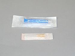 Injekční stříkačka s jehlou